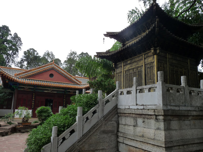 CHINE.YUNNAN.KUN MING Temple, jardin horticole,Musée des minorites - P1270307.JPG