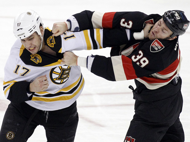 Lucic Carkner fight