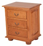 Valencia Nightstand with Drawers
