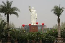 Parc de Chang'an : statue de Mao