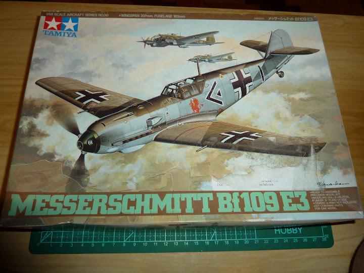 Bf-109 E-3 Tamiya 1/48 - Reforma pintura P1020395
