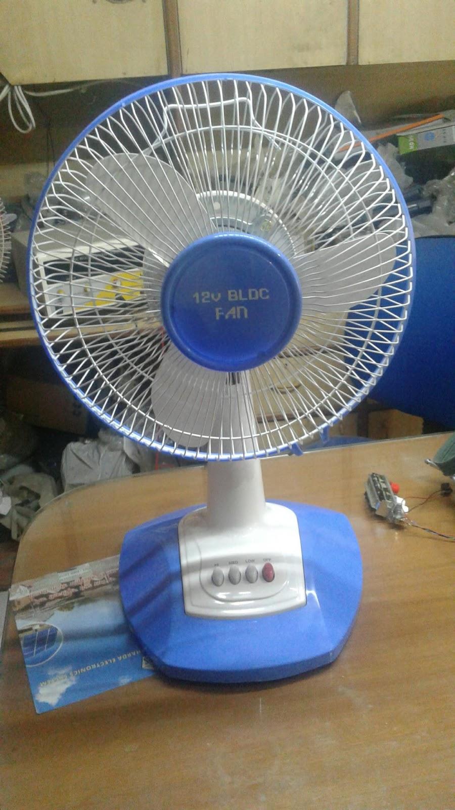 Solar BLDC 24V Ceiling Fan Manufacturer India bldc table