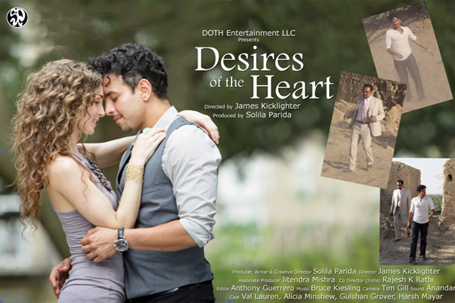 Harsh Mayar in Desires of the Heart