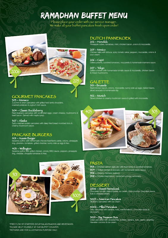 Ramadan Buffet Menu - Berakas (Large)