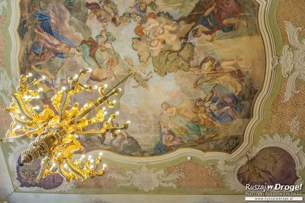 Piękne zdobienia na Zamku Książ w Wałbrzychu