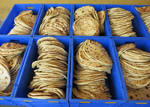 Tibetan bread.