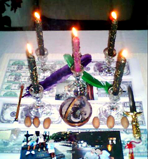 Wealth Drawing Candle Spell, Candle Magic