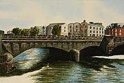 """Galway City Bridge"" by Arist Daniel Fishback."