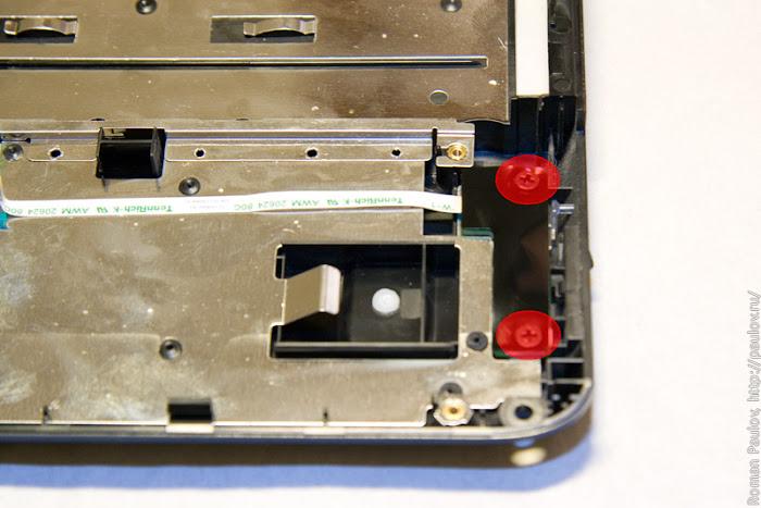 Как разобрать ноутбук Dell Inspiron 1525 40