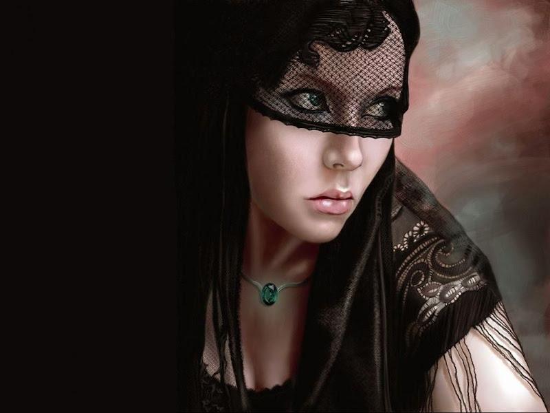 Black Eyes Of Princess Of Night, Magic Beauties 3
