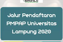 Informasi Jalur Pendaftaran PMPAP Universitas Lampung 2020