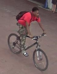 SUSPECT ON BIKE