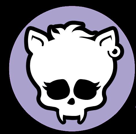 Monster High: Logotipo de Clawdeen (calaverita)