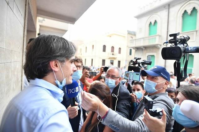 Ameri, Reggio Calabria chiede la linea. CLAMOROSA RIMONTA DEL CSX. FALCOMATÀ  RIESCE NELL'IMPRESA. VINCE E MANDA A CASA UN CDX CONFUSO E INCONSISTENTE.