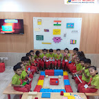 Rectangle Day Celebration by Nursery Section at Witty World Bangur Nagar (2018-2019)