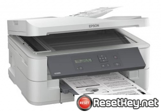 Reset Epson K301 Waste Ink Counter overflow error