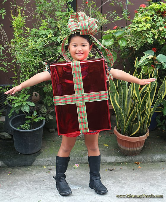 DIY Christmas Present Costume