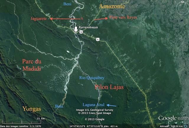 Les Yungas, des Andes à l'Amazonie
