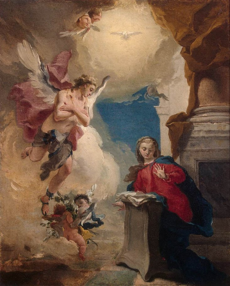 Giovanni Battista Tiepolo - Annunciation