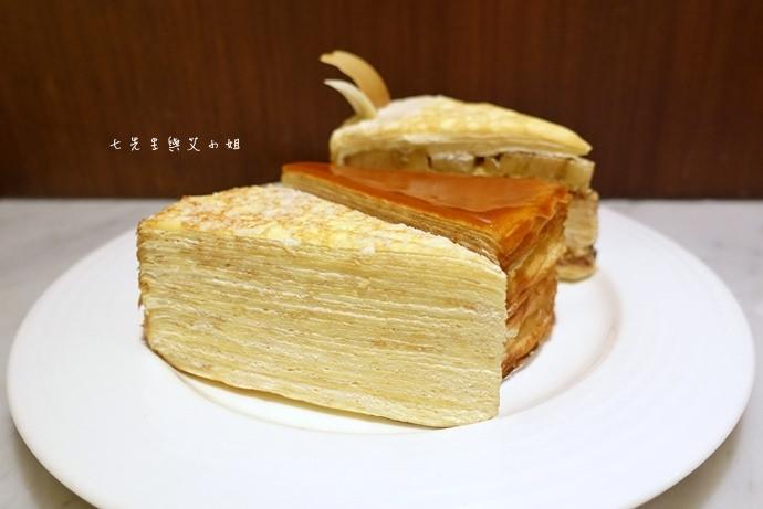 19 台南 深藍咖啡館 千層蛋糕