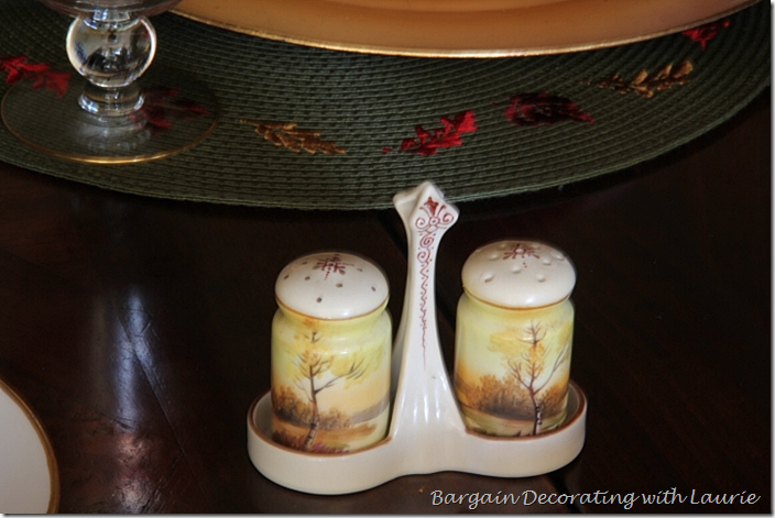 Noritake Japan Salt and Pepper