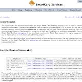 Smart Card Servicesダウンロードのページ