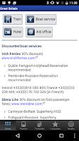Screenshot of Rail Planner  Eurail/InterRail