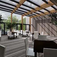 Piet Klerkx Waalwijk uitbreiding restaurant / verbinding woonwereld-keukenwereld