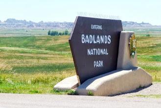 Photo: National Park #3: The Badlands of South Dakota.