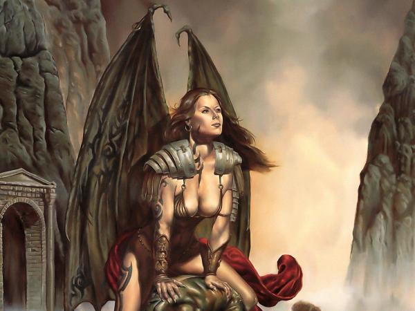 Beauty Gargoyle, Fallen Angels