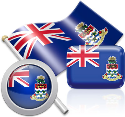 Caymanian flag icons pictures collection