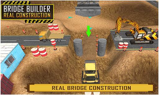 桥梁建筑施工3D