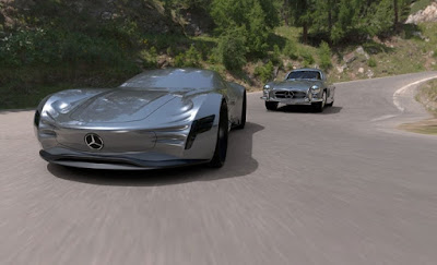 Mercedes-Benz SL-PURE concept