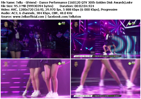 Gfriend Love Whisper Bugs K2nblog Com: Dance Performance (160120 QTV 30th Golden