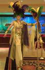 mardi Gras Belly Dancer