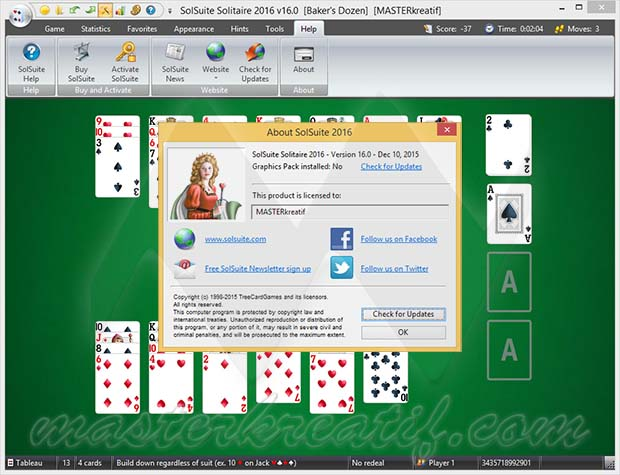 SolSuite Solitaire 2016 Full Version