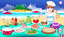لعبة طبخ مأكولات بحرية
