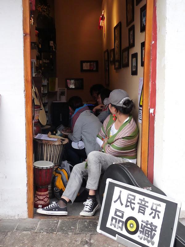 le  plus petit magasin de Lijiang