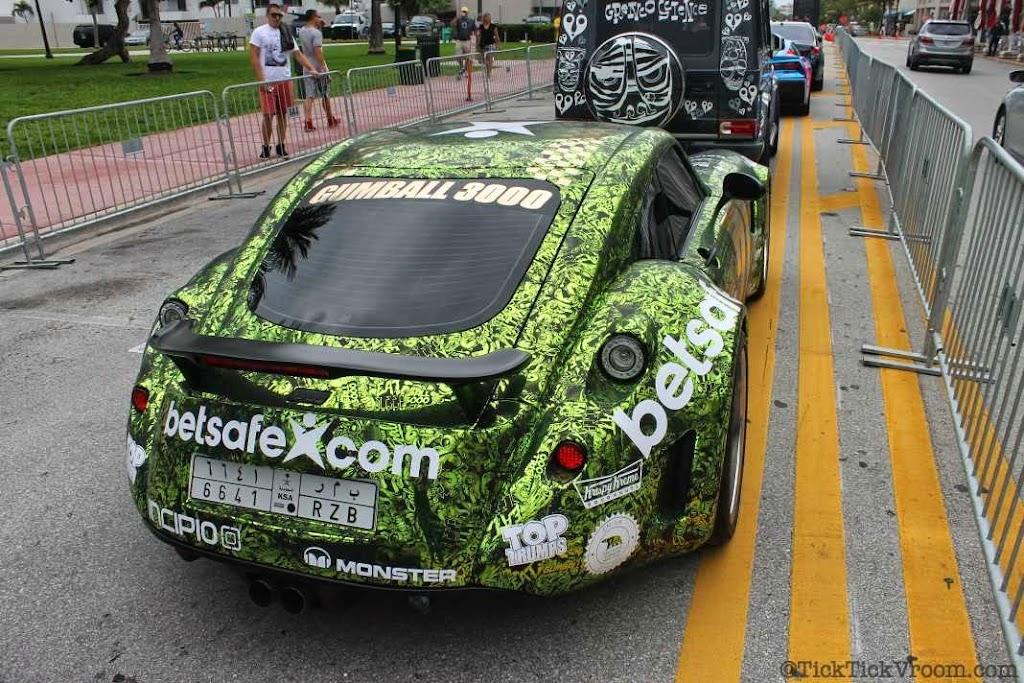 2014 Gumball 3000 Miami 2 Ibiza Ocean Drive 7933