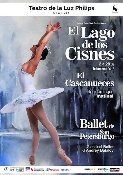 El Lago de los Cisnes por el Ballet de San Petersburgo