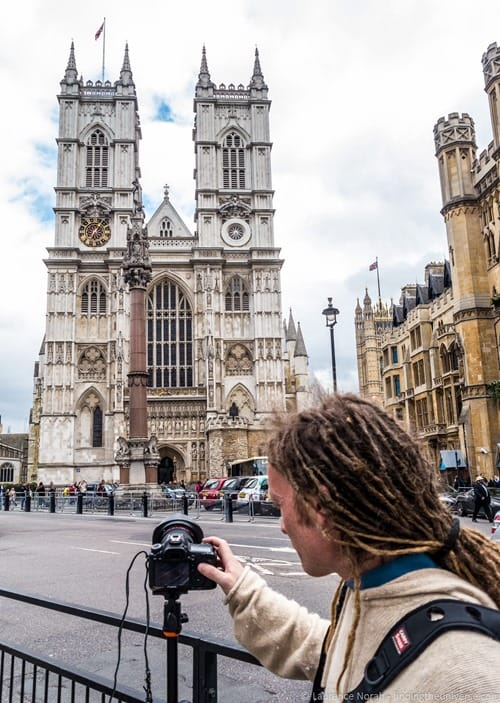 Photography location london westminster abbey