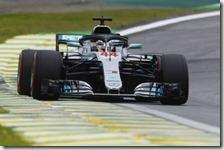 Lewis Hamilton conquista la pole del gran premio del Brasile 2018