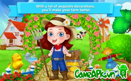 Little Dream Farm v1.0.2 hack full tiền xu cho Android