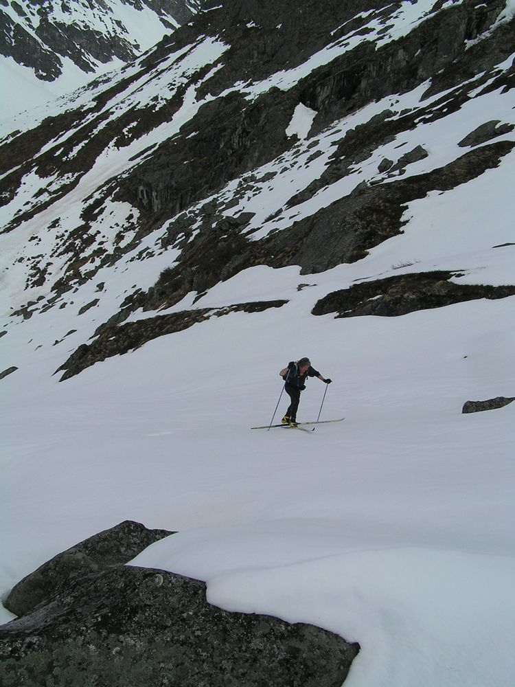 Some good climbing to get to the lakes