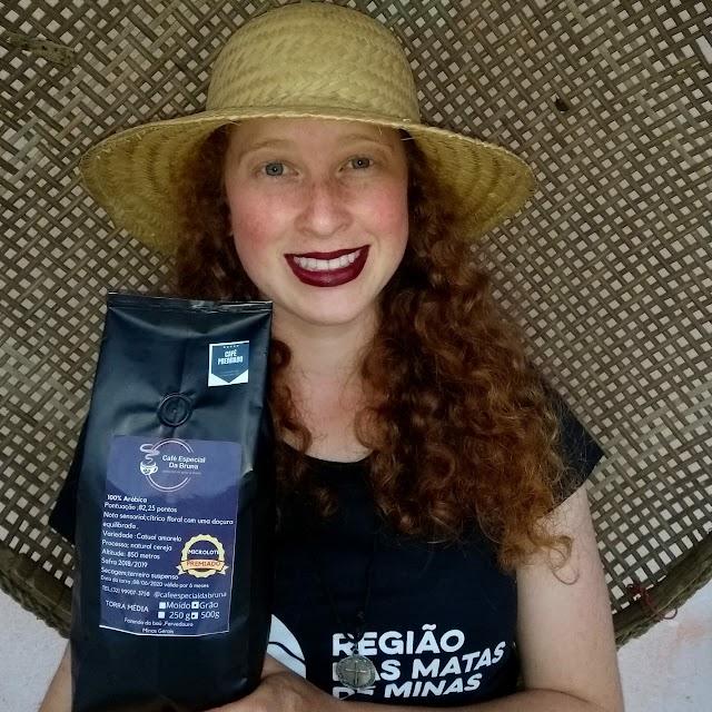 Jovem cafeicultora de Fervedouro é finalista de prêmio internacional