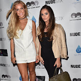 OIC - ENTSIMAGES.COM - Chloe Meadows and Courtney Green  at the NUDESTIX - launch party celebrating the launch of a new lip line from the cosmetic brand  in London  2nd June  2016 Photo Mobis Photos/OIC 0203 174 1069