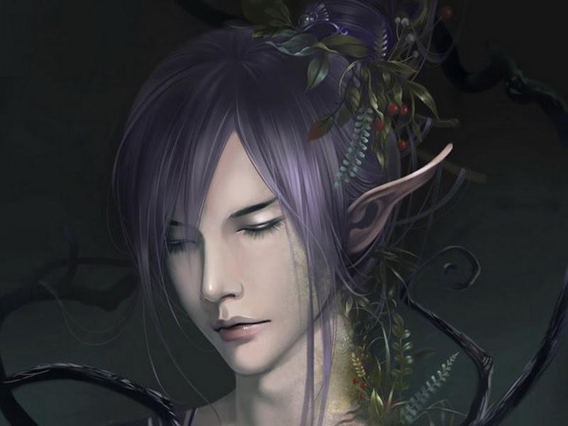 Beautiful Creature Of Wraith, Dark Goddess