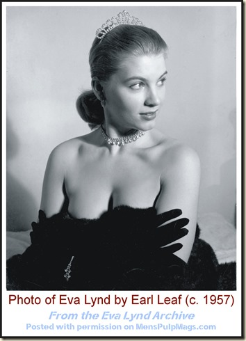 Eva Lynd, photo by Earl Leaf (1957) 001 WM