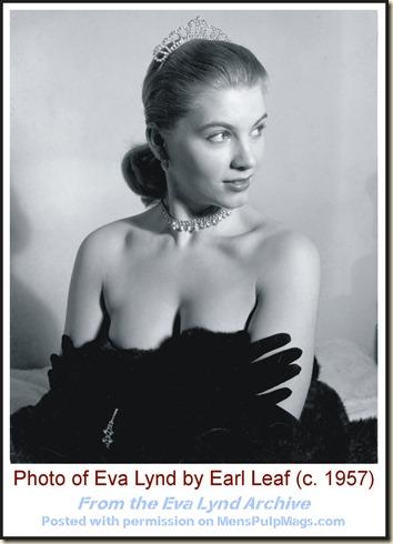 Eva Lynd, photo by Earl Leaf (1957) 001 WM
