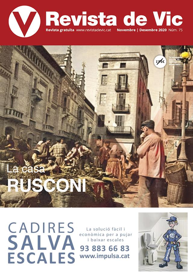 Revista de Vic 75 - Temps estranys. per Xavi Ruiz